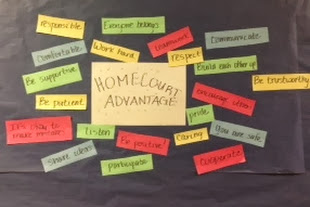 Homecourt Advantage Bulletin Board