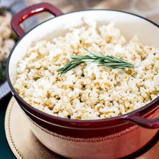 Rosemary Cayenne Popcorn.