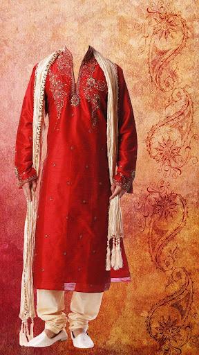 インドの伝統的な男性の衣装