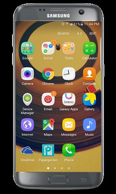 J7 Prime launcher - screenshot