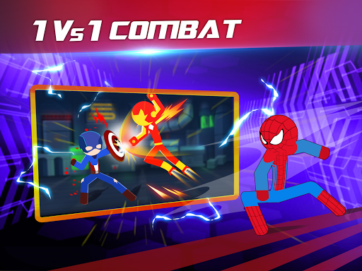 Super Stickman Heroes Fight screenshots 11