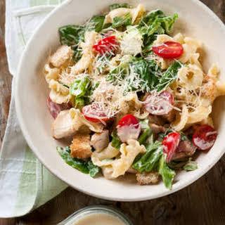 Quick Chicken Pasta Salad.