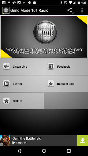 Grind Mode 101 Radio  screenshots 1