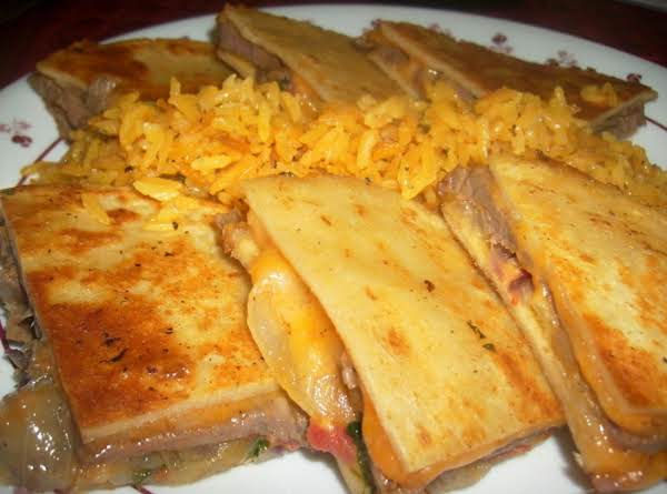 Roy's Steak Quesadillas