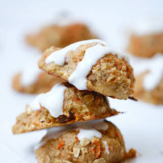 Carrot Cake Cookies with Crushed Pineapple- Coconut Free.
