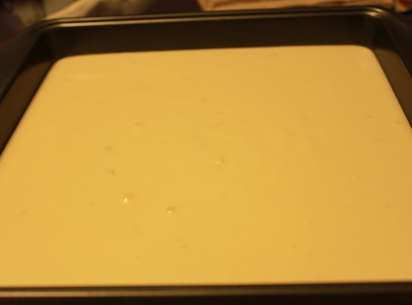 Bake cake in roasting pan for 1 hour. Remove foil. Bake until cake is...