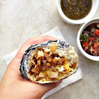 Pork Sisig Burrito