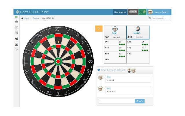 Darts Club Online Darts Game Calculator