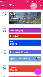 CalendarZ - náhled
