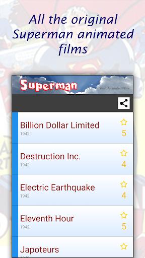 Superman's animated films MP4