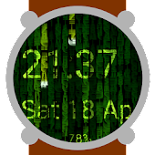 Matrix Time Watch Face