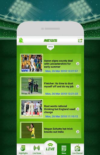 Live Cricket 1.5 screenshots 10