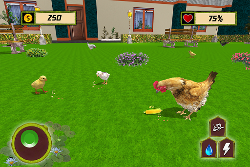 New Hen Family Simulator: Chicken Farming Games apkpoly screenshots 21