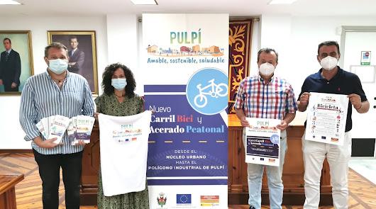 """El Ayuntamiento presenta la campaña """"Pulpí amable, sostenible, saludable"""""""