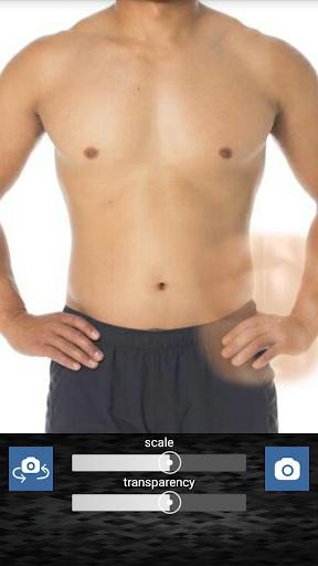 無料个人化Appの偽の腹部:6パックの腹部|記事Game