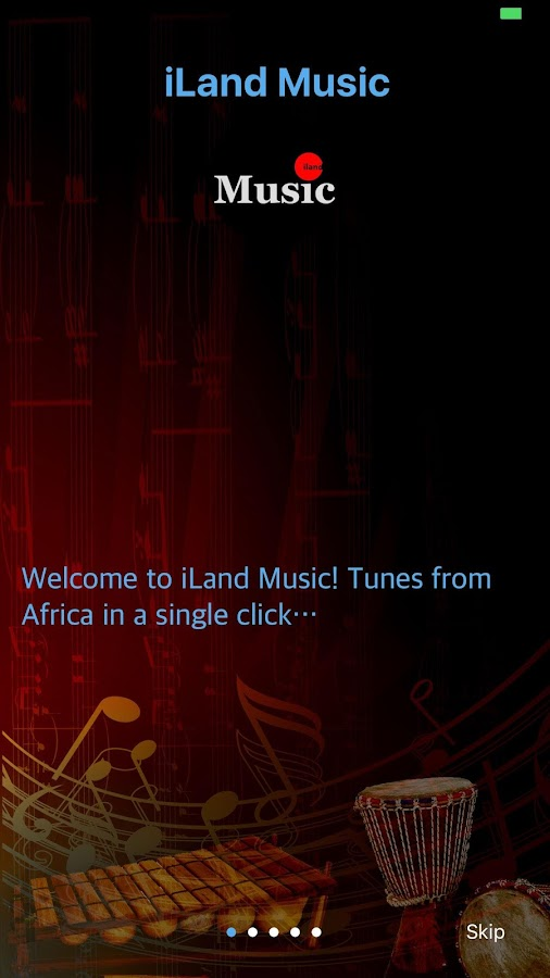 iLand Music- screenshot