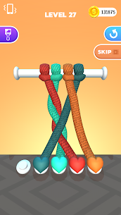 Tangle Master 3D Mod APK (Unlimited Coins/No Ads) for Android 6
