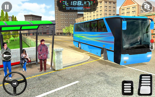 City Coach Bus Driving Simulator: Driving Games 3D android2mod screenshots 5