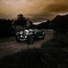 Moody Bentley by Elmer van Zyl - Transportation Automobiles