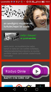 Radyo Haberler, muzik ve haberler - náhled