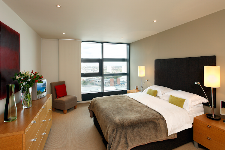 Bedroom at Brindley Place
