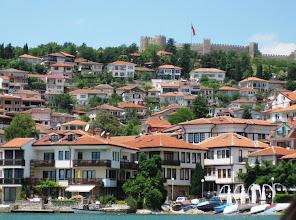 Photo: Ohridin kaupunkinäkymää