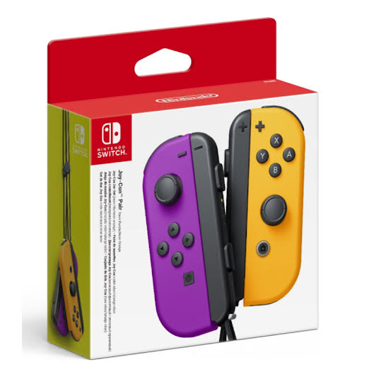 Nintendo Switch Joy-Con Handkontroll Pair Purple / Orange