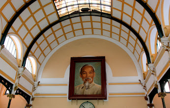 Photo: Year 2 Day 28 - Uncle Ho Portrait in Main Post Office