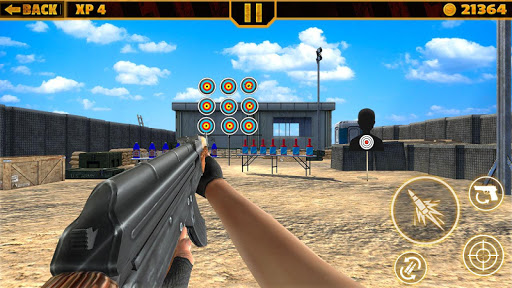 Real Range Shooting : Army Training Free Game 1.7 screenshots 1