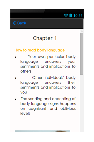 Read Body Language Guide screenshot 3