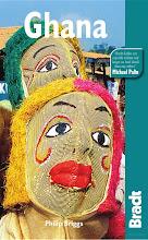 Photo: Couverture de la dernière édition du Bradt travel guide (et pour la 1ère fois Busua Inn et Ezile bay village !)