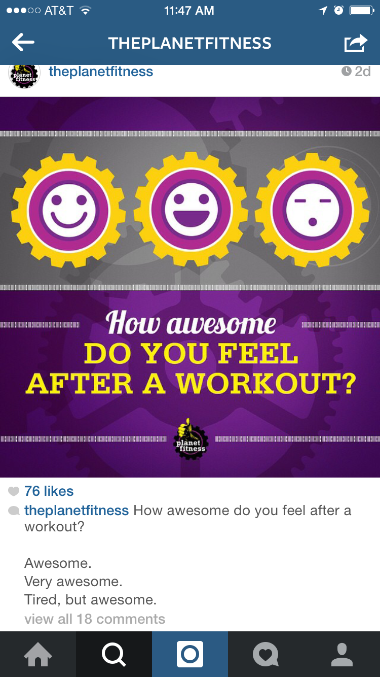 Planet Fitness example