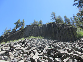 Photo: Devils Postpile