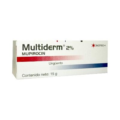 mupirocin multiderm 2% 15g ungüento biotech