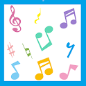 Play baby musical instruments icon