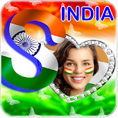 Indian Flag Letter Alphabets Photo