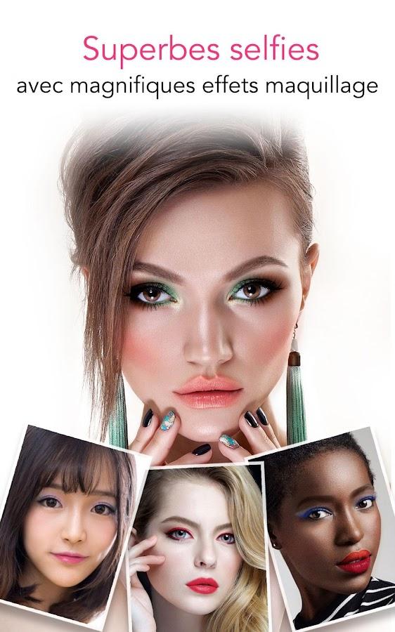 Youcam Makeup - Relooking Magique Et Selfie Cam – Applications