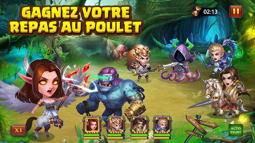 Code Triche Heroes Charge APK MOD screenshots 3