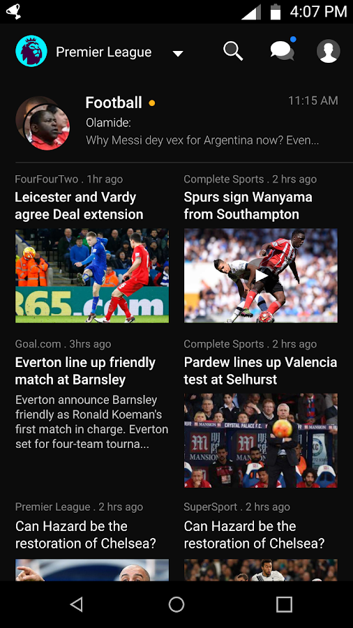 Amebo Sports- screenshot