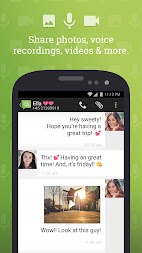 SMS from Android 4.4 with Caller ID APK screenshot thumbnail 3