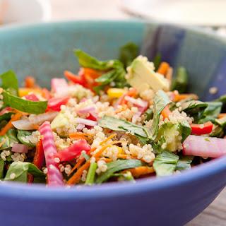 Reset Quinoa Spinach Salad