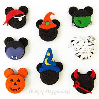 Halloween Mickey Mouse Oreo Cookies.