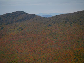 Photo: Distant view of Camel's Hump from Catamount.