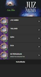 JuzAmma-Iqro-Tajwid screenshot