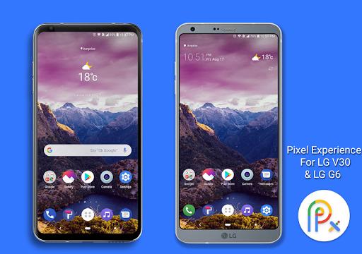 Pixel Experience Theme for LG V30 LG G6 LG V20 0 Apk