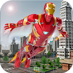 Flying super hero survival free games
