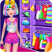 Unicorn Rainbow Makeover - Dress up & Makeup Game