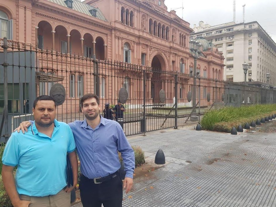 DANIEL CABRERA Y FRANCO PALUDI: GESTIONES EN BUENOS AIRES