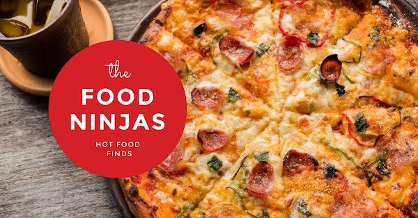 Food Ninjas Pizza - Facebook Event Cover Template