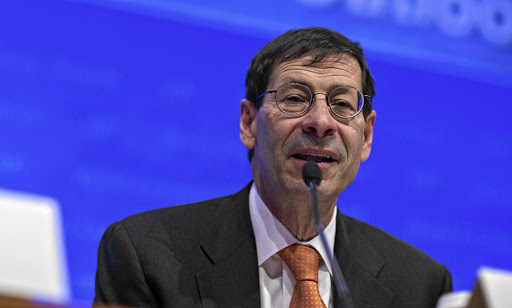 UPS AND DOWNS IMF chief economist Maurice Obstfeld says the high degree of uncertainty about what's in store in terms of US economic policy presents a